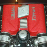 Detailed Sports Car Engine